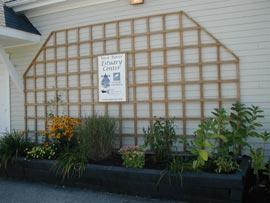 Weir River Estuary Center Garden Boxes
