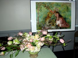 Art in Bloom - Pink and White