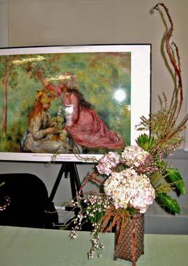 Art in Bloom - Hydrangeas